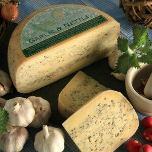 Garlic & Nettle Lyburn Cheese